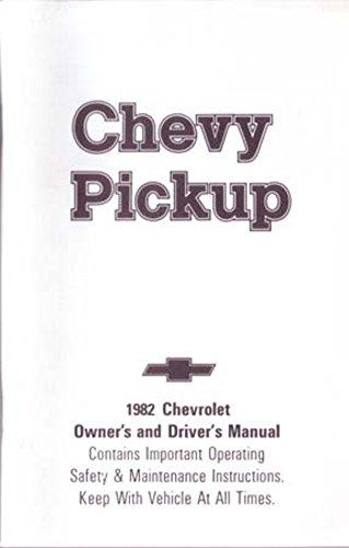 (bishko automotive literature 1982 Chevrolet C K Pickup Truck Owners Manual User Guide Operator Book Fuses)