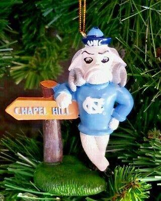 Oxbay North Carolina UNC Tarheels Mascot Resin Ornament 4