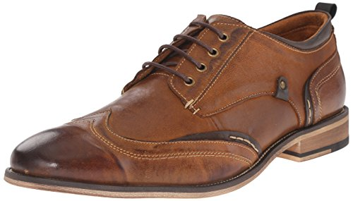 Steve Madden Men's Jimmer Oxford, Tan, 10.5 M US