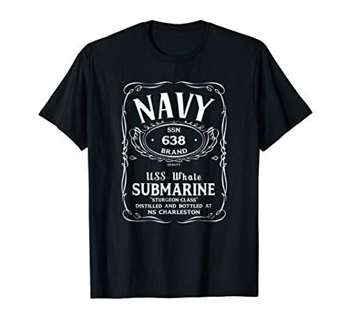 USS Whale SSN-638 Submarine Shirt