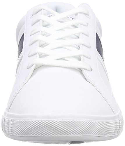 Lacoste Europa Lcr3 - Zapatillas Hombre Blanco (Black/black)