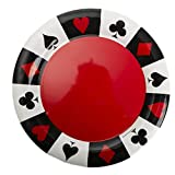 "13 1/2"" Card Night Round Tray"