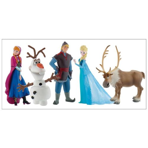 coffret de figurines la reine des neiges de bully. Black Bedroom Furniture Sets. Home Design Ideas