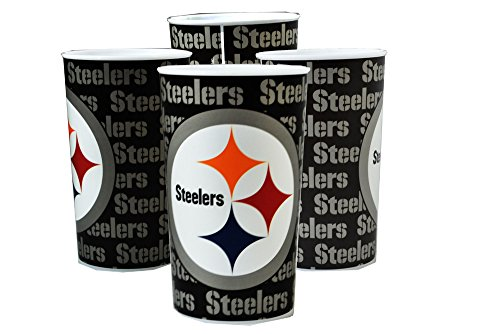 Plastic Cup Steelers 22 Oz.]()