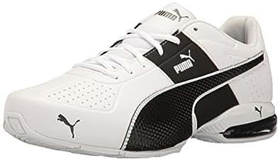 PUMA Men's Cell Surin 2.0 FM Sneaker, White Black, 6.5 M US
