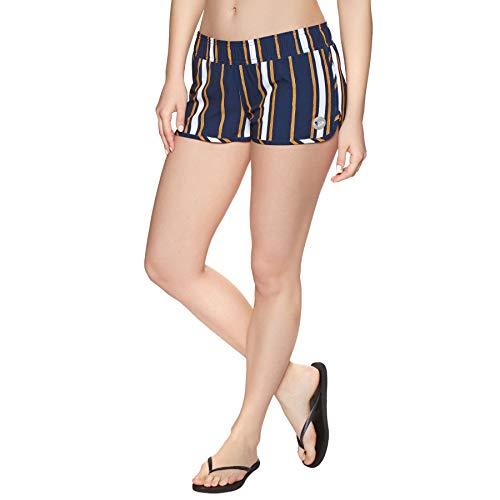 Roxy Love Printed Womens Boardshorts X Small Medieval Blue Macy Stripe