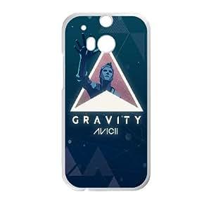 HTC One M8 Cell Phone Case White Avicii Gravity OJ550075