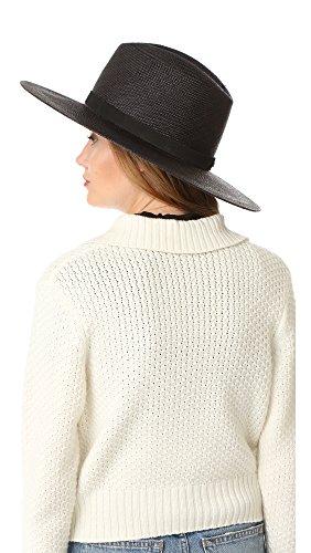Janessa Leone Short Brimmed Panama Hat