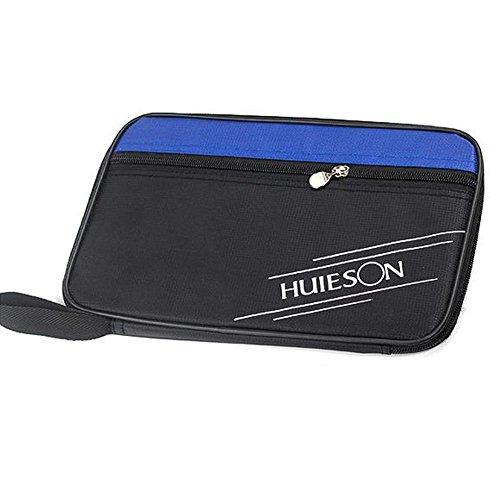 cloudwhisper 1Rechteck Tisch Tennisschläger Tasche Ping Pong Paddel Schläger Tasche Blue-black