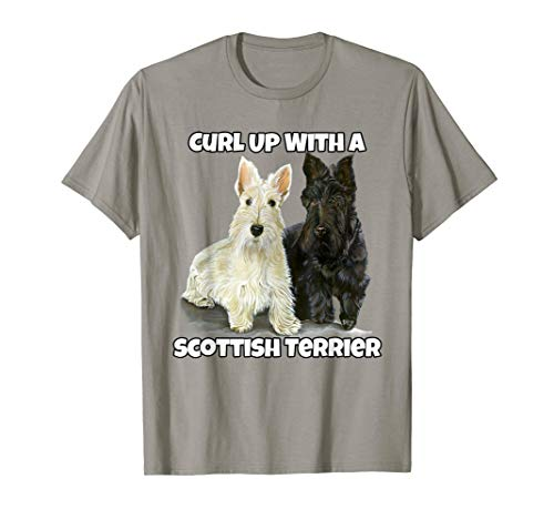 Curl Up With A Scottish Terrier. Pet Owner -