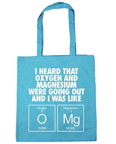 10 Were That Oxygen Out litres Beach Tote Mg and 42cm Heard I Bag Going Gym x38cm O I Blue Surf Like Magnesium Was HippoWarehouse Shopping and YqBEpxw