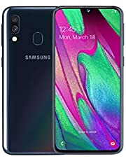 Samsung Galaxy A40 64 GB Android Dual-SIM 5.9 Inch Smartphone - Black (UK Version)