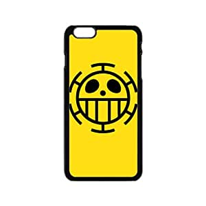 One Piece Trafalgar Law Flag Cell Phone Case for Iphone 6