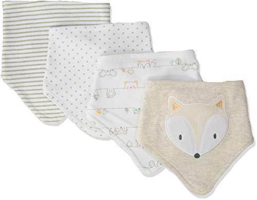 Rene Rofe Baby Baby Collection Newborn Unisex 4 Pack Bandana Bibs