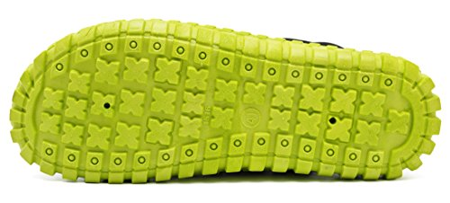 adituo Unisex Garden Clog Shoes,Quick Drying,Summer Breathable Mesh Sandals Shoes Agray