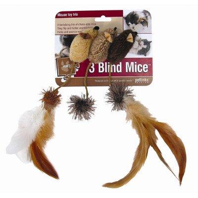 (Petlinks System 3 Blink Mice Cat Toy [Set of 2] )