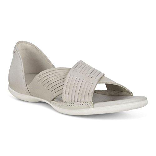 ECCO Women's, Flash Crisscross Sandals Gravel LT Taupe 3.9 M