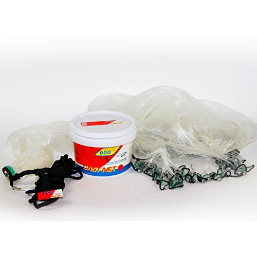 Ahi USA 600 Pro Series 6 Panel Cast Net, 5-Feet