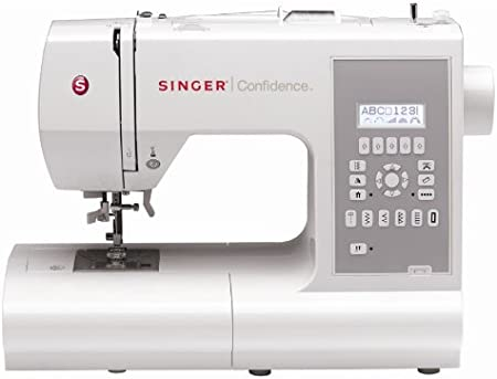 SINGER Confidence - Máquina de coser (LCD, Eléctrico, Gris, Color ...
