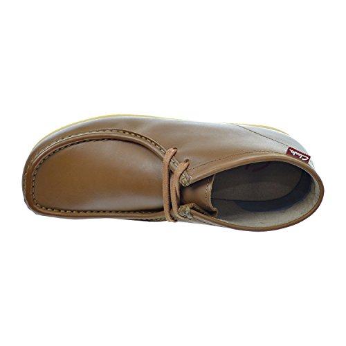 Clarks Stinson Hi Mens Stövlar Tan Läder / Brun 26113633