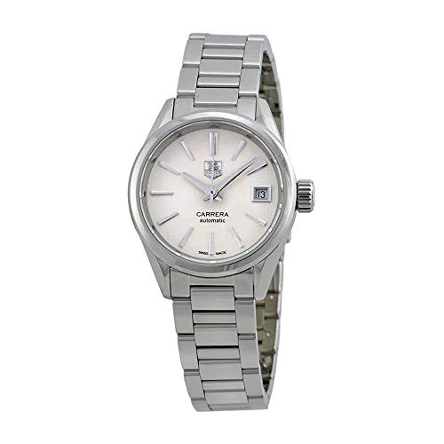 TAG Heuer Women's WAR2416.BA0770 Carrera Analog Display Swiss Automatic Silver Watch