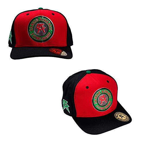899050c4f8e7a Canelo Alvarez Spice Snapback Baseball Hat - Officially Licensed Red Black