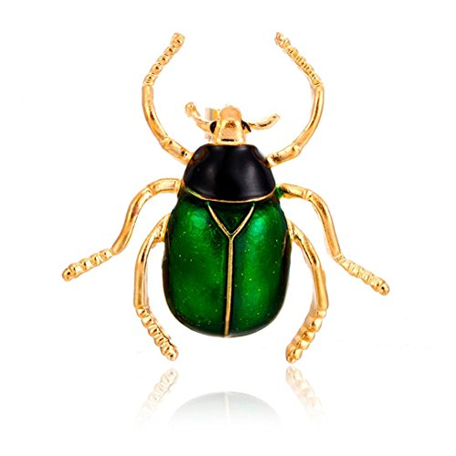 Botrong® New Enamel Alloy Colorful Insect Pins Brooches For Women Girls Party Jewelry (A)