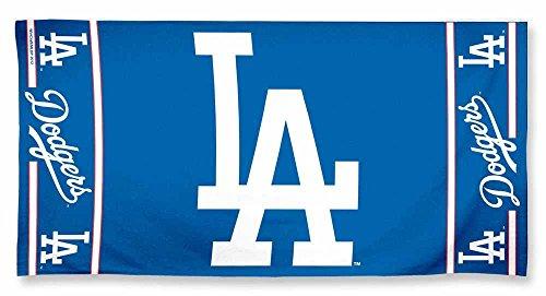 Dodgers Fan - MLB Los Angeles Dodgers A1878015 Fiber Beach Towel, 9 lb/30