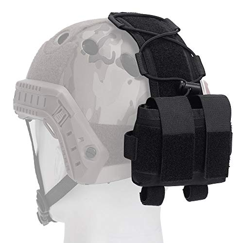 EMERSONGEAR Helmet Counterweight Battery Pouch Tactical Helmet Balance Weight of Bag Hunting Accessories Pouch for MK2 Black