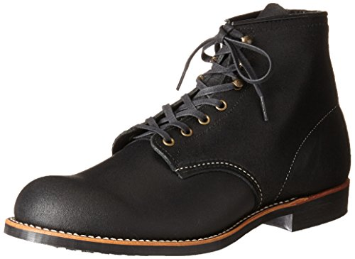 Red Wing Heritage Men's Blacksmith Lace Up, Black Spitfire, 10 D US