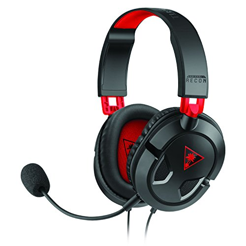 Turtle Beach Ear Force Recon 50 Gaming Headset for PlayStation 4, Xbox One, & PC/Mac Lightweight Digital Stereo Headphones