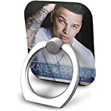 EdithL Kane Brown Cellstand Cell Phone Finger Ring Stand Car Mount 360 Degree Rotation Universal Phone Ring Holder Kickstand for iPhone/iPad/Samsung