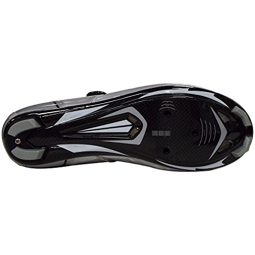 Black fibres paire Shoes VeloChampion VCX avec Cycle carbone White cyclistes semelles de Chaussures Silver wnnHxUCqOg