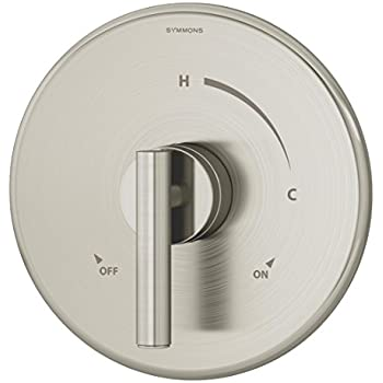 Symmons 3500 Cyl B Stn Trm Dia Shower Valve Trim Satin