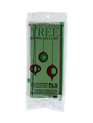 Christmas Tree Removal Bag and Skirt Green Xtra Large 144 X 90 Heavy Duty