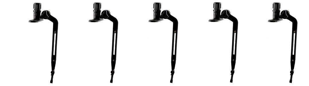 Scotty #141 Kayak/SUP Transducer Mounting Arm with Gear-Head (5-(Pack)) by Scotty