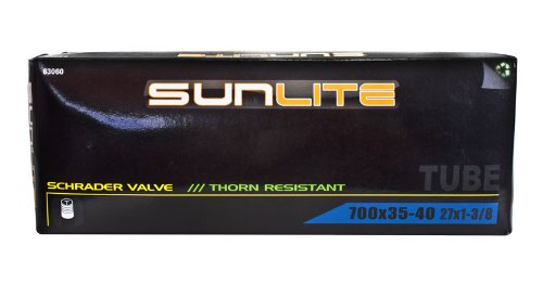 Pyramid Sunlite Thorn Resistant Bicycle Tube 700 x 35-40 (27 x 1-3.8) SCHRADER Valve