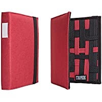 STRAPBOOK - Gadget Binder and Organizer for Your Stuff (Red)
