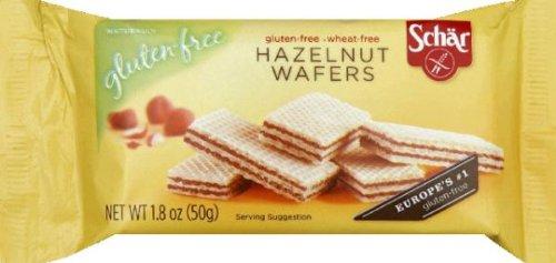 Schar Hazelnut Wafers Gluten Free -- 1.8 oz