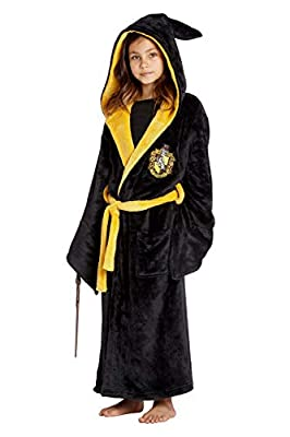 Harry Potter Costume Kids Plush Robe Hogwarts Houses Gryffindor, Ravenclaw, Hufflepuff, Slytherin