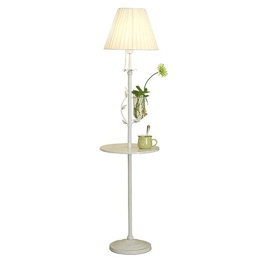 LYN Lámpara de pie nórdica, Dormitorio de la Sala de Estar, mesita de Noche, sofá Minimalista Moderno, lámpara de pie Vertical Creativa (Color : A): Amazon.es: Hogar
