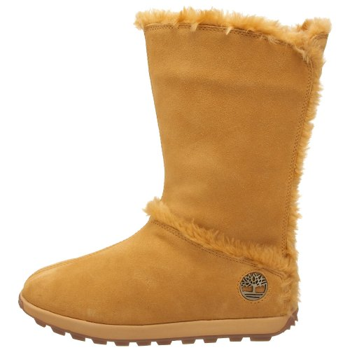 Pullon Mukluk Timberland calf Womens Mid Boots Wide Fashion Fur 65qxwvr5