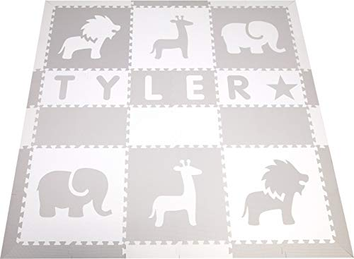 Cheap Personalized Foam Play Mat Names Up To 6 Letters Softtiles