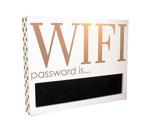 Chalkboard Wifi Password Decorative Wooden product image
