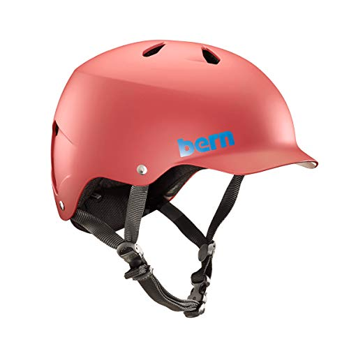 BERN - Summer Watts EPS Helmet, Matte Red, Medium