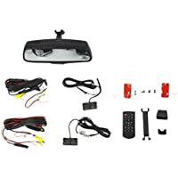 Brandmotion 9002-2906 Dual Camera Blind Spot Monitoring System with 7.3 Display Mirror