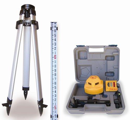 PLS Laser PLS-60537 PLS360 Laser Level Kit, Yellow