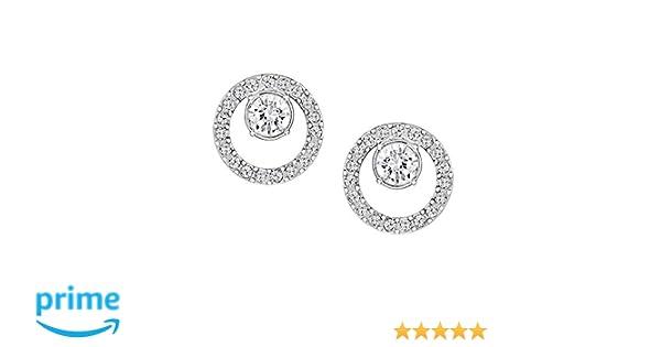 900001417 Amazon.com: Swarovski Creativity Circle Small Earrings: Jewelry