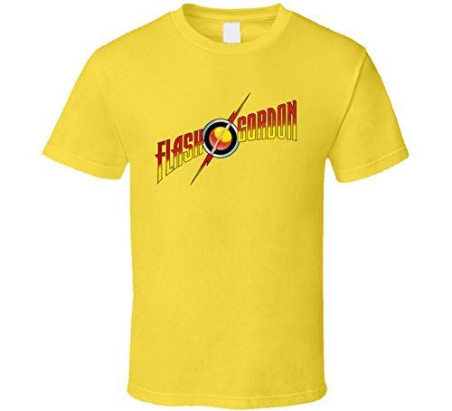 Flash Gordon Comic Classic Logo T Shirt XL Daisy