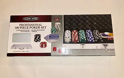 Classic Sport 500 Piece Poker Set